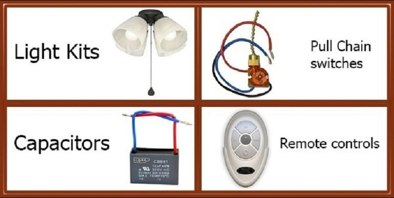 Casablanca Ceiling Fan Parts – Replacement Parts