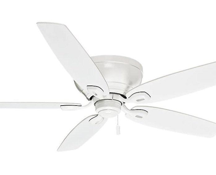 Casablanca 54103 Indoor Low Profile Ceiling Fan With Pull